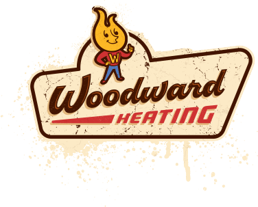 Woodward Heating logo